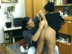 Türkisches Paar fickt vor der Porno Kamera