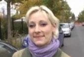 Mollige German Porno Schlampe lässt sich geil bereiten