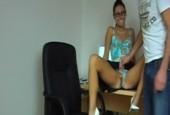Ficken im Arbeitszimmer