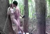 Verrückter Fick im Wald