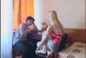 Geiler Sex mit blonder Stiefschwester