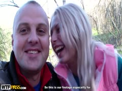 Andrey knallt die blonde Studenten Fotze