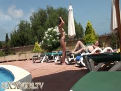 Urlaub Sex am Pool