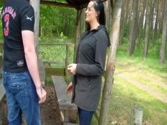 Deutsche Ficken gern im Wald