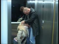 Fick Im Fahrstuhl